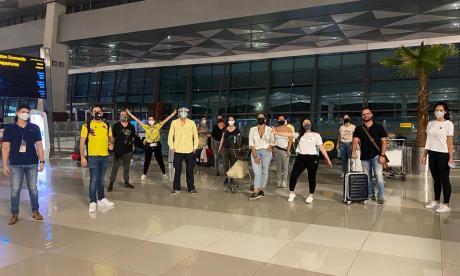 En video | 366 colombianos que estaban varados fuera del continente vuelven al país