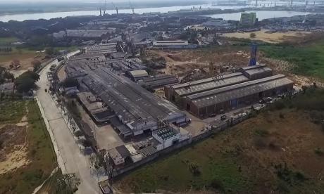 Planta de Pizano, empresa que está en proceso de liquidación desde 2018 en Barranquilla.