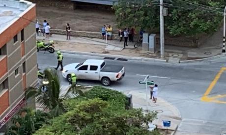 En video   Atraco desató balacera en el norte de Barranquilla