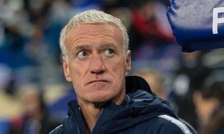 Didier Deschamps, entrenador de la selección francesa.
