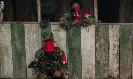 Miembros del Ejército de Liberación Nacional (ELN).