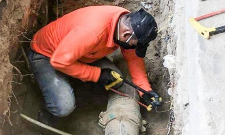 Hallan más de 100 conexiones fraudulentas en acueducto de Santa Marta