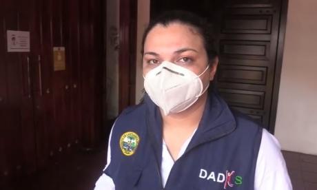 Johana Bueno, directora (e) del Dadis.