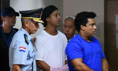 Ronaldinho sigue con su calvario y cumplirá tres meses de encierro en Paraguay