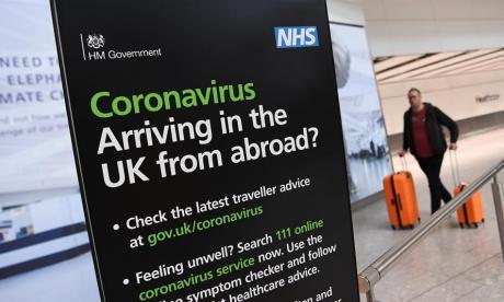 Reino Unido comienza a aplicar cuarentena a viajeros internacionales
