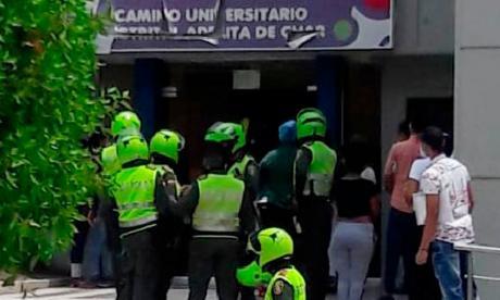 Policía interviene para evitar agresiones en el Camino Adelita de Char