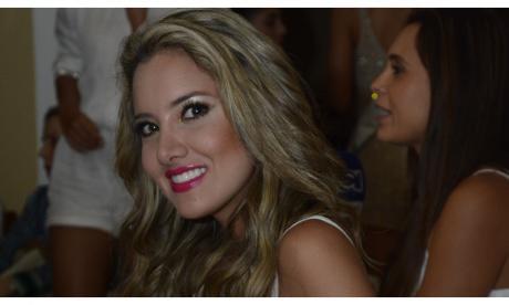 La ex Señorita Colombia, Daniella Álvarez.