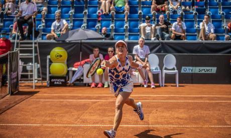 El torneo benéfico de Praga, con púlbico y sin mascarillas