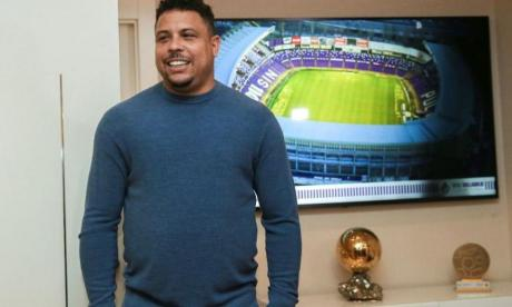 Ronaldo, dueño y presidente actual del Valladolid de España.