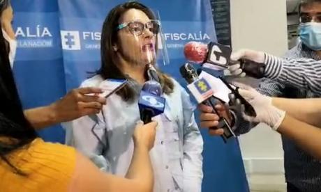 Carmen Torres, delegada de Seguridad Ciudadana, de la Fiscalía.