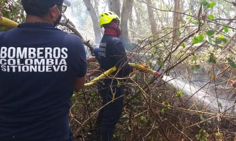 Bomberos esperan liquidar este viernes el fuego en Salamanca
