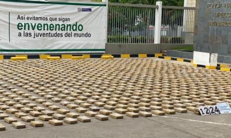 Caen 1,2 kilos de cocaína empacados en servilletas en Cartagena