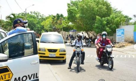 Así es la nueva rotación del Pico y placa para taxis en Cartagena