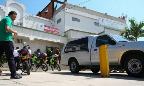 El herido fue trasladado al hospital San Ignacio.