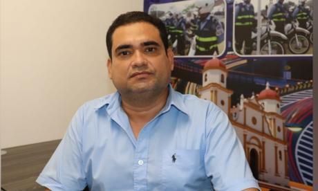 José Torregrosa, director del Instituto de Tránsito y Transporte de Soledad.