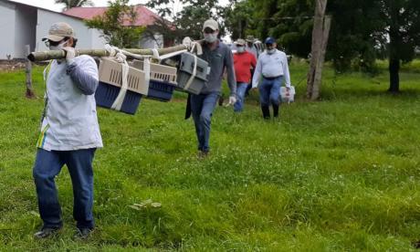 Liberan especies silvestres en reserva natural de Córdoba