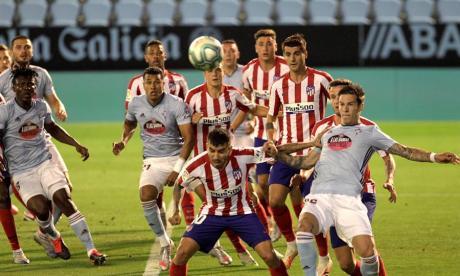 Celta 1, Atlético 1: Murillo y Arias jugaron los 90 minutos