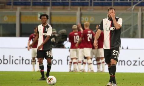 Milan 4, Juve 2: en seis minutos se escapó el triunfo a Cuadrado y su combo