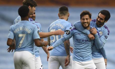 El City se desquita y aplasta al Newcastle con un golazo de Silva