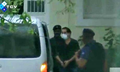 La imagen más reciente de Saab fue tomada cuando llegaba a un centro médico en Cabo Verde.