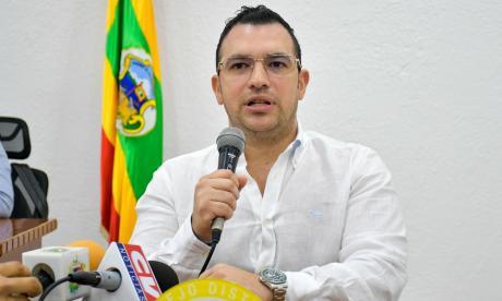 Jesús María Acevedo Magaldi, contralor distrital de Barranquilla.