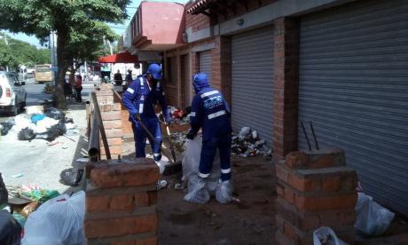 Retiran basurero en La Alboraya