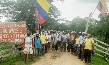 Campesinos desalojaron finca tras compromiso de ayuda