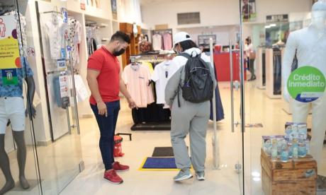 Seis centros comerciales volvieron a abrir sus puertas en Soledad