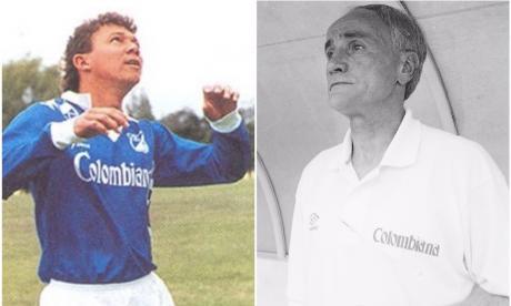 Édinson Domínguez y Vladimir Popovic estuvieron juntos en Millonarios entre 1994 y 1995.