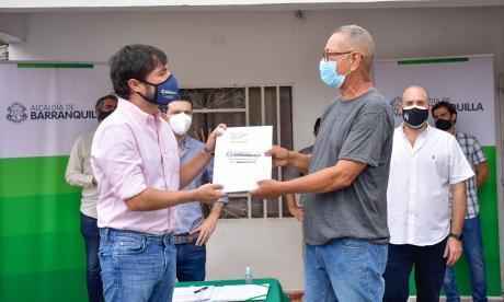 Distrito titulará 10 mil predios en Barranquilla