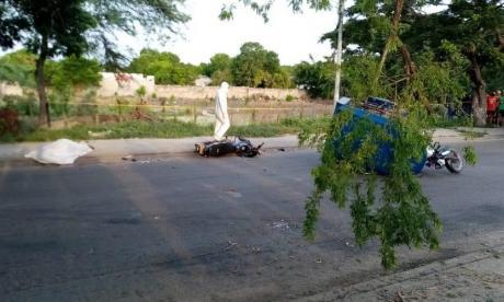 Accidente de tránsito en Santo Tomás deja un muerto y un herido