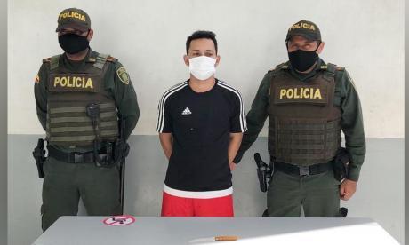 Daniel Enrique Arenas Torres, capturado.