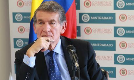 Ministro de Trabajo, Ángel Cabrera.