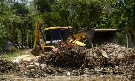 Retiran 60 toneladas de desechos de escenarios deportivos de Santa Marta