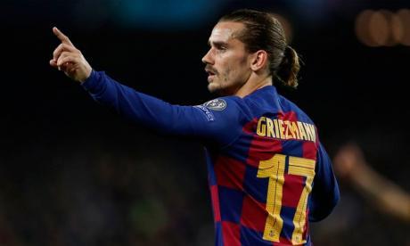Antoine Griezmann, delantero francés del FC Barcelona.
