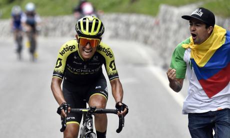 Esteban Chaves, segundo clasificado en el Giro y tercero en la Vuelta en 2016, se encuentra en buena forma ante el comienzo del Tour.