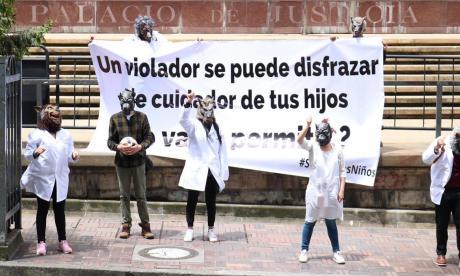 Activistas piden a la Corte mantener registro de abusadores