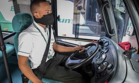 En video | 'Luz verde' para los trabajadores del transporte