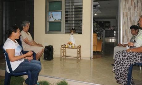 El novenario de la Virgen del Socorro se vive desde las casas en Sincé