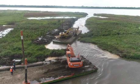 Intranquilidad por solución para erosión en Salamina