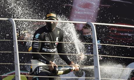 Lewis Hamilton, más líder tras lograr en Mugello su victoria 90 en Fórmula 1