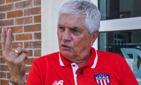 Julio Comesaña, extécnico del Junior.