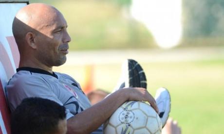 Ricardo Ciciliano cuando jugaba en Uniautónoma FC.