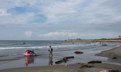 Atlántico reabre sus playas con medidas de bioseguridad