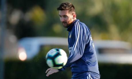 Messi encabeza lista previa de Argentina para inicio de eliminatorias