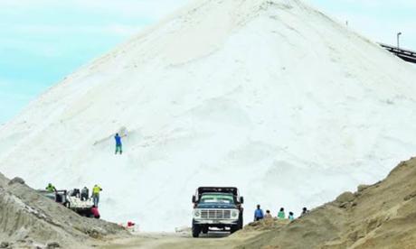 Así era la producción de sal en los mejores tiempos de las empresas que han operado el complejo minero.