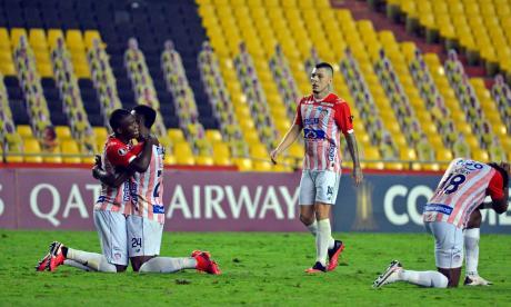 Junior llega motivado al duelo de esta noche en el 'Metro', luego de vencer 2-1 al Barcelona en Guayaquil.