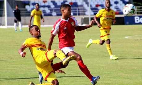 Barranquilla FC cayó 1-0 ante Bogotá en el estadio Romelio Martínez