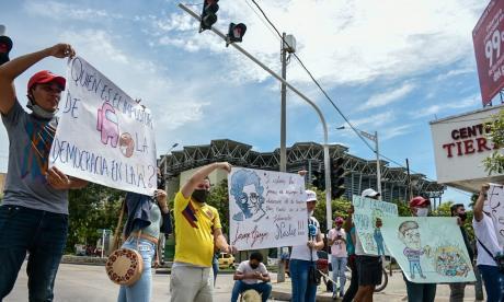 Estudiantes de Uniatlántico exigen elecciones a Consejo Superior