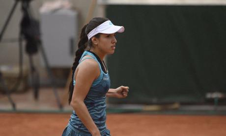 María Camila Osorio cayó en su debut en el 'qualy' del Roland Garros